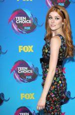 KATHERINE MCNAMARA at Teen Choice Awards 2017 in Los Angeles 08/13/2017