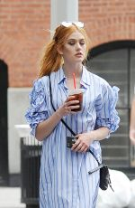 KATHERINE MCNAMARA Out and About in New York 08/14/2017