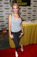 KATIE CASSIDY at Comic-con in Boston 08/13/2017