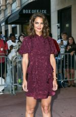 KATIE HOLMES at The Tick Premiere in New York 08/16/2017