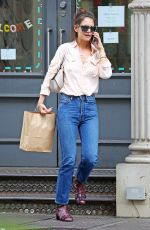 KATIE HOLMES Out Shopping in New York 08/08/2017