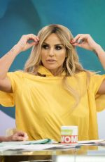 KATIE PRICE and Rodrigo Alves at Loose Women TV Show in London 08/10/2017