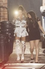 KATIE PRICE at Inside Out Nightclub in Darlington 08/20/2017