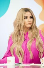 KATIE PRICE on the Set of Loose Women Show in London 08/29/2017