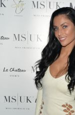 KATIE SALMON, CALLY JANE BEECH, SALLY AXLE and HELEN BRIGGS at Miss Swimsuit UK Event in Chelmsford 08/13/2017