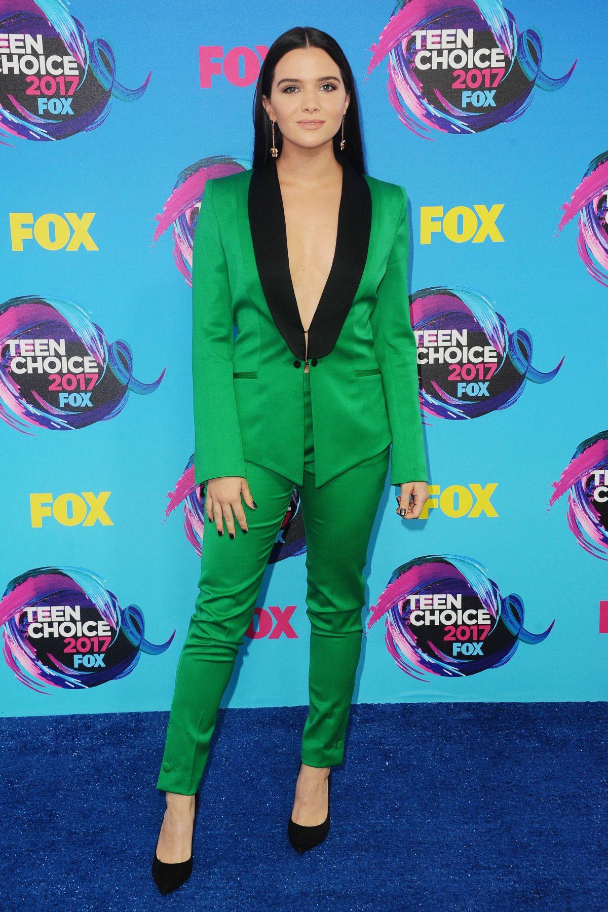 KATIE STEVENS at Teen Choice Awards 2017 in Los Angeles 08/13/2017