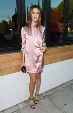 KAYLA EWELL at Harper's Bazaar September Issue Dinner in West Hollywood 08/22/2017