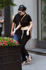 KEDNALL JENNER Leaves an Apartment in New York 08/03/2017