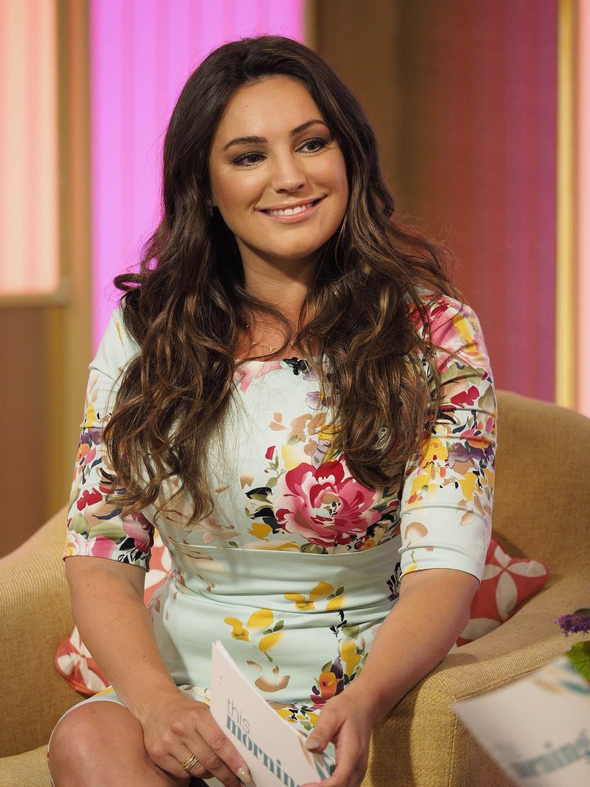 KELLY BROOK at On This Morning Show in London 08/08/2017