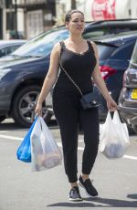 KELLY BROOK Out Shopping in Kent 08/15/2017