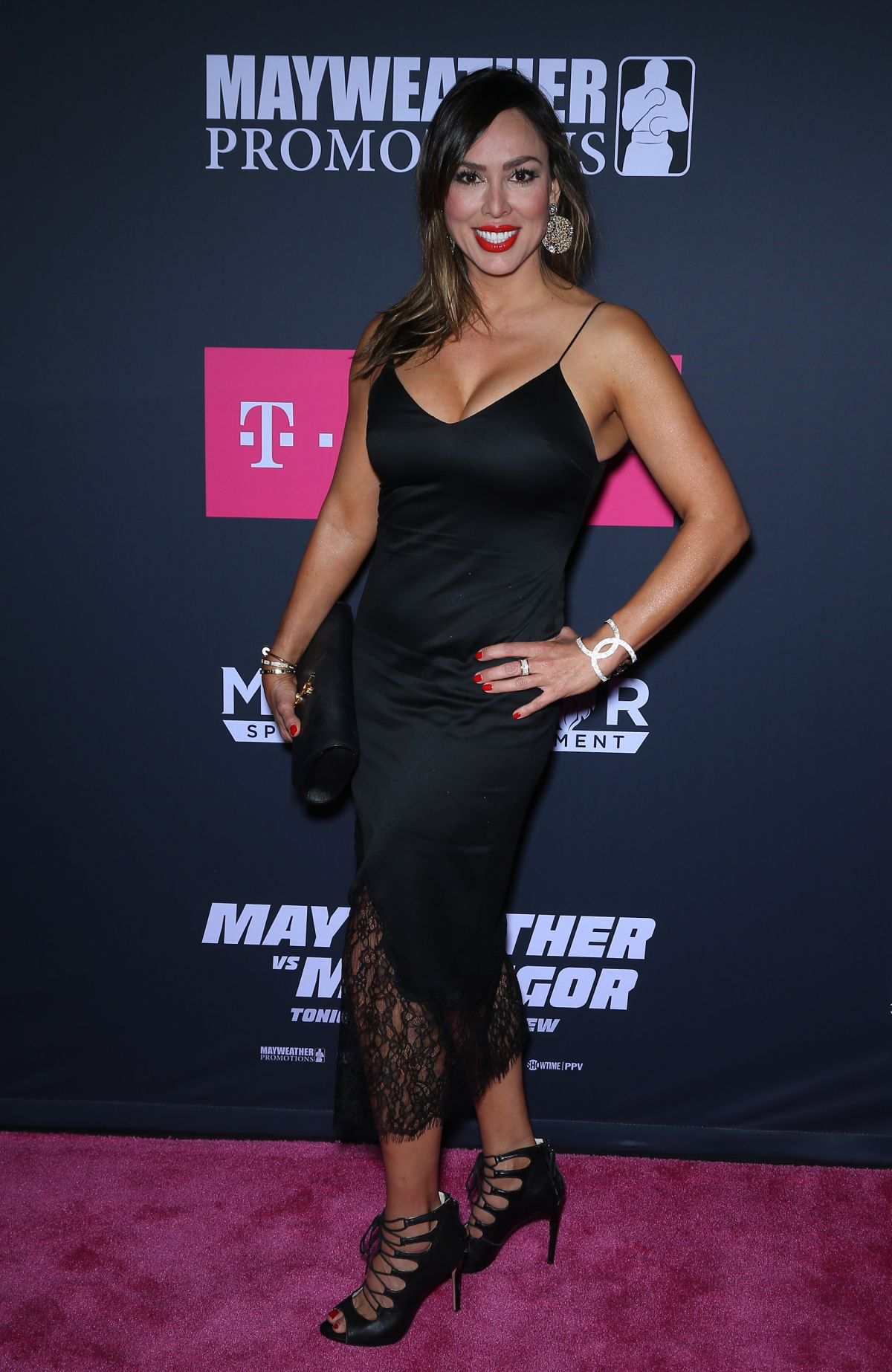 KELLY DODD at Mayweather vs McGregor Pre-fight VIP Party in Las Vegas 08/26/2017