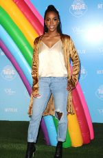 KELLY ROWLAND at True and the Rainbow Kingdom Premiere in Los Angeles 08/10/2017