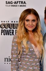 KELSEA BALLERINI at Billboard Country Power Players in Nashville 08/01/2017