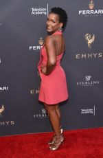 KELSEY SCOTT at Emmys Cocktail Reception in Los Angeles 08/22/2017