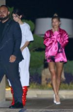 KENDALL JENNER and HAILEY BALDWIN Out for Dinner at Nobu in Malibu 08/29/2017