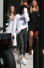 KENDALL JENNER Leaves a Studio in Culver City 08/25/2017