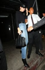 KENDALL JENNER Leaves Nice Guy Club in West Hollywood 08/23/2017
