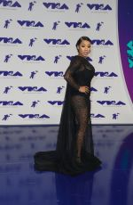 KEYSHIA COLE at 2017 MTV Video Music Awards in Los Angeles 08/27/2017