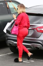 KHLOE KARDASHIAN at a Studio in Los Angeles 08/15/2017