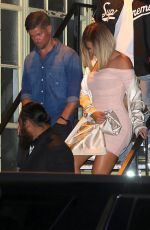 KHLOE KARDASHIAN at Ace of Diamonds Strip Club in West Hollywood 08/15/2017