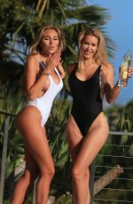KHLOE TERAE and KENNEDY SUMMERS in Swismuits for 138 Water Photoshoot in Beverly Hills 08/21/2017