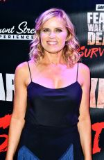 KIM DICKENS at Fear the Walking Dead Survival Thrill Experience Launch in Las Vegas 08/29/2017