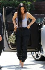 KIM KARDASHIAN Out for Lunch in Studio City 08/24/2017