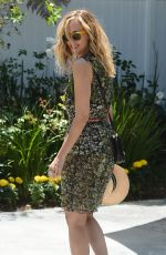 KIM RAVER at Instyle's Day of Indulgence Party in Brentwood 08/13/2017