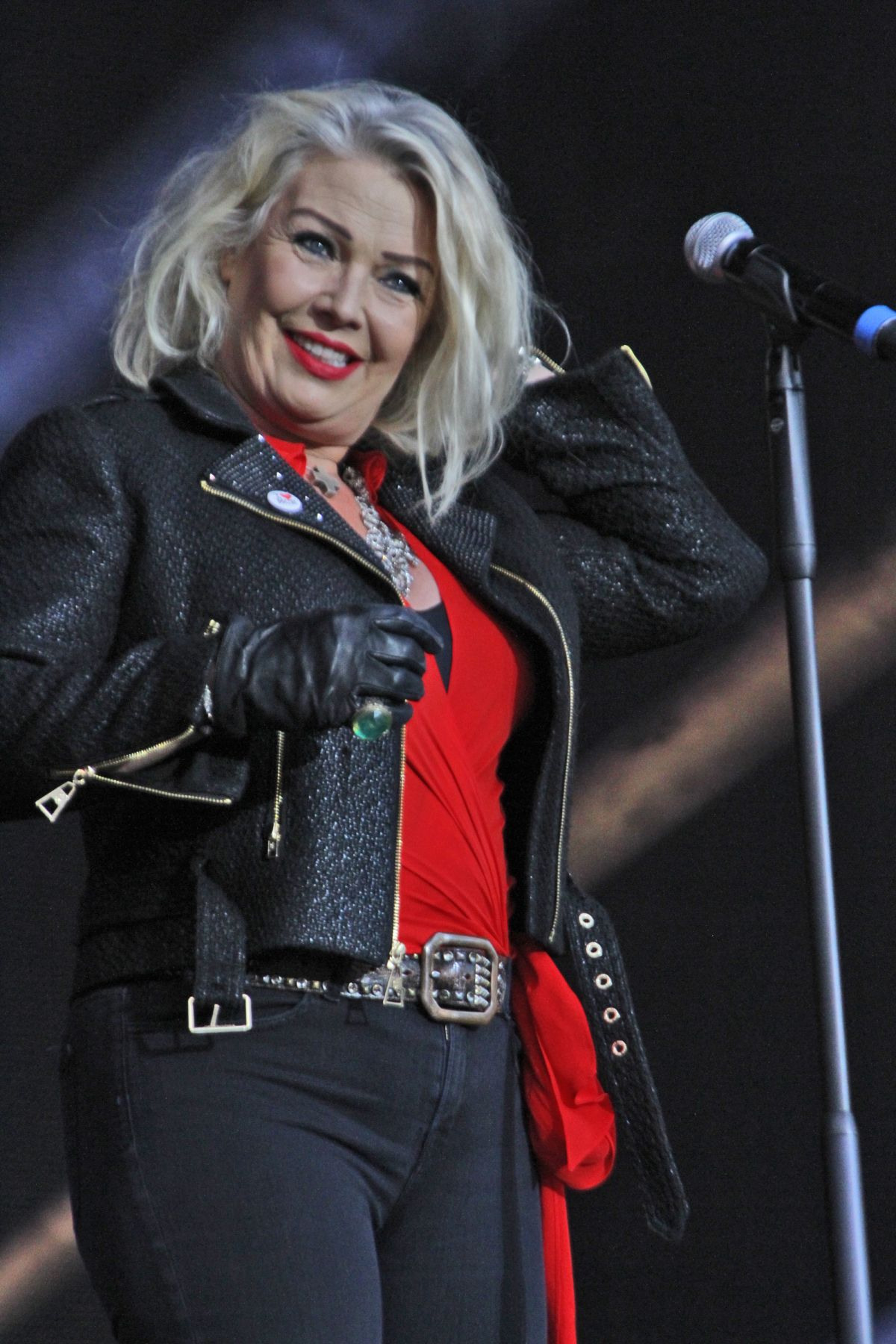 kim wilde performs at rewind north at capesthorne hall in
