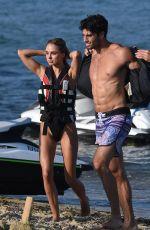 KIMBERLEY GARNER in Bikini at a Beach in St. Tropez 07/31/2017
