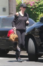 KIMBERLY STEWART in Tights Out in Los Angeles 08/14/2017