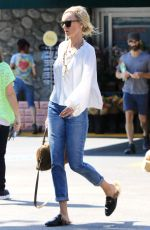 KIMBERLY STEWART Out Shopping in Los Angeles 08/17/2017