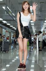 KIRARA ASUKA Arrives in Taipei 08/22/2017