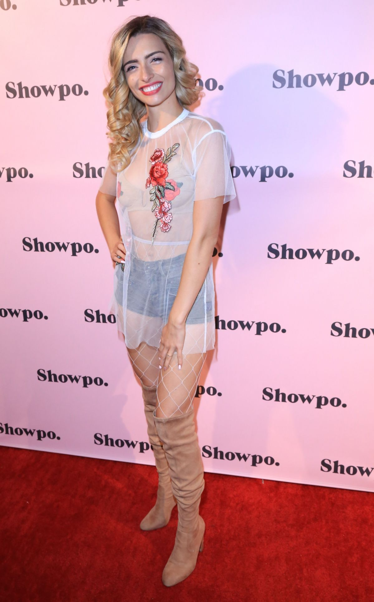 KIRSTEN COLLINS at Showpo US Launch Party in Los Angeles 08/24/2017
