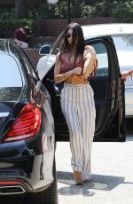 KOURTNEY KARDASHIAN Out and About in Studio City 08/24/2017