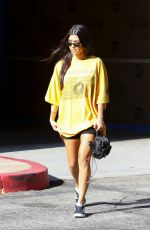 KOURTNEY KARDASHIAN Out in Los Angeles 08/22/2017