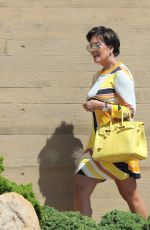 KRIS JENNER Leaves a Restaurant in Los Angeles 08/08/2017