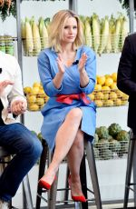 KRISTEN BELL at 2017 #drinkgooddogood Campaign Launch in New York 08/09/2017