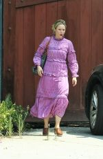 KRISTEN BELL Leaves a Friends House in Hollywood 08/16/2017