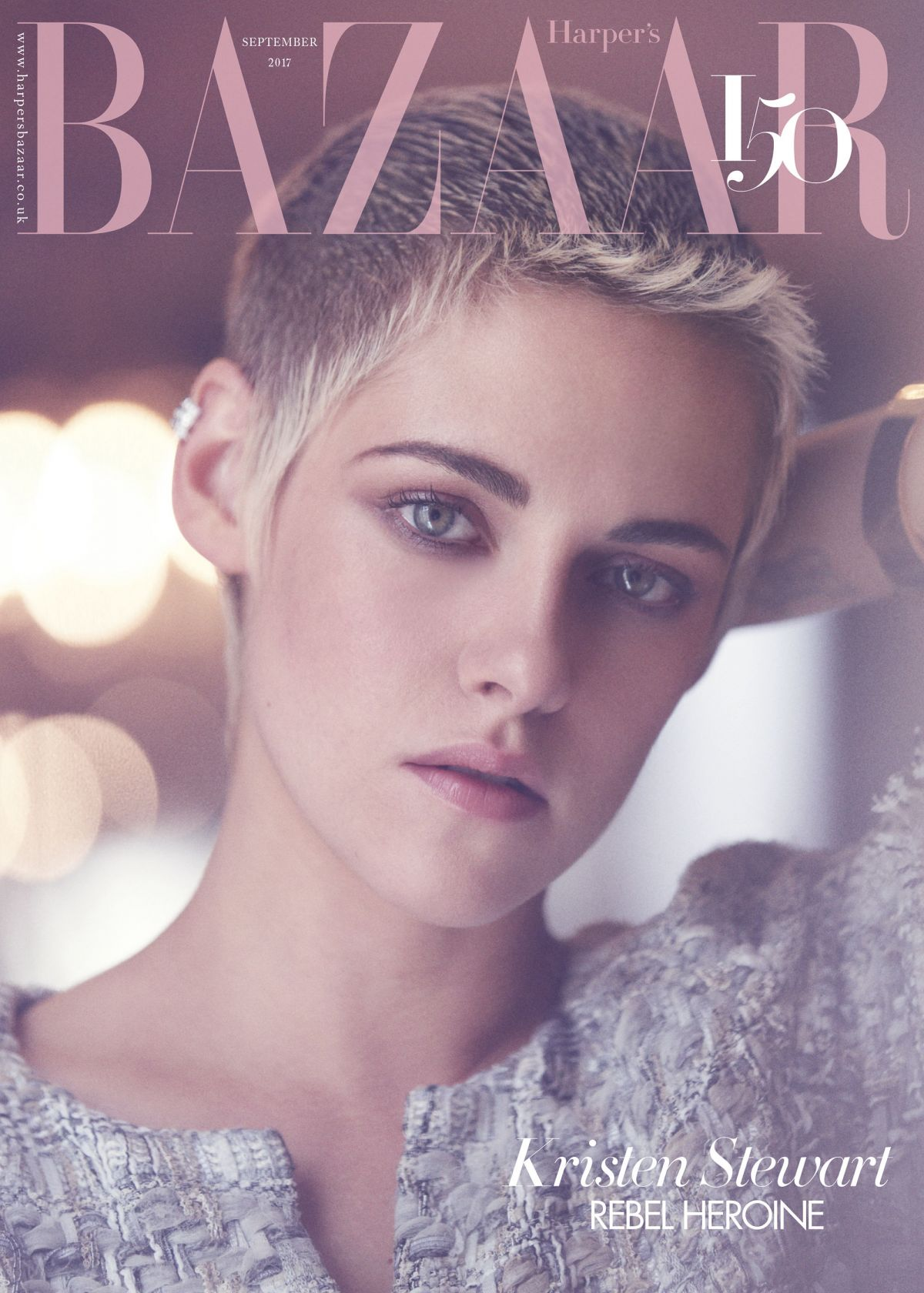 KRISTEN STEWART for Harper