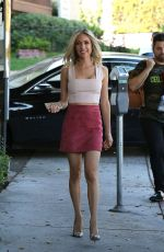 KRISTIN CAVALLARI Arrives at Her Pop Up Store in West Hollywood 08/30/2017