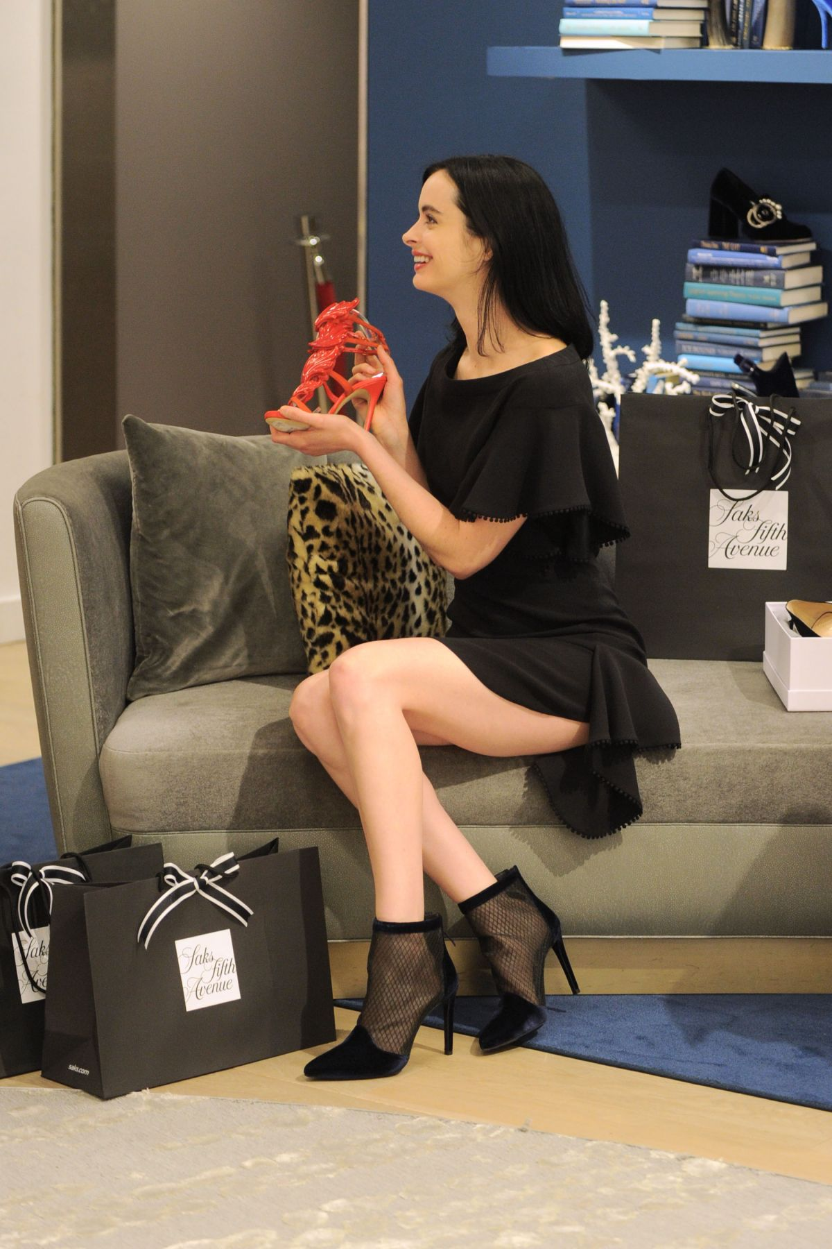 KRYSTEN RITTER Celebrates 10022-Shoe 10th birthday of at ...