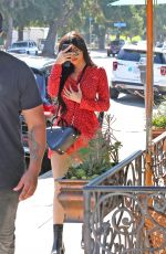 KYLIE JENNER Out for Lunch in Studio City 08/14/2017