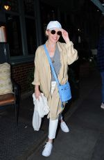 KYLIE MINOGUE Leaves Ivy Chelsea Gardens in London 08/06/2017