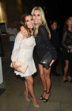 KYM MARSH and DAWN WARD at Rosso Restaurant and Menagerie in Manchester 08/05/2017