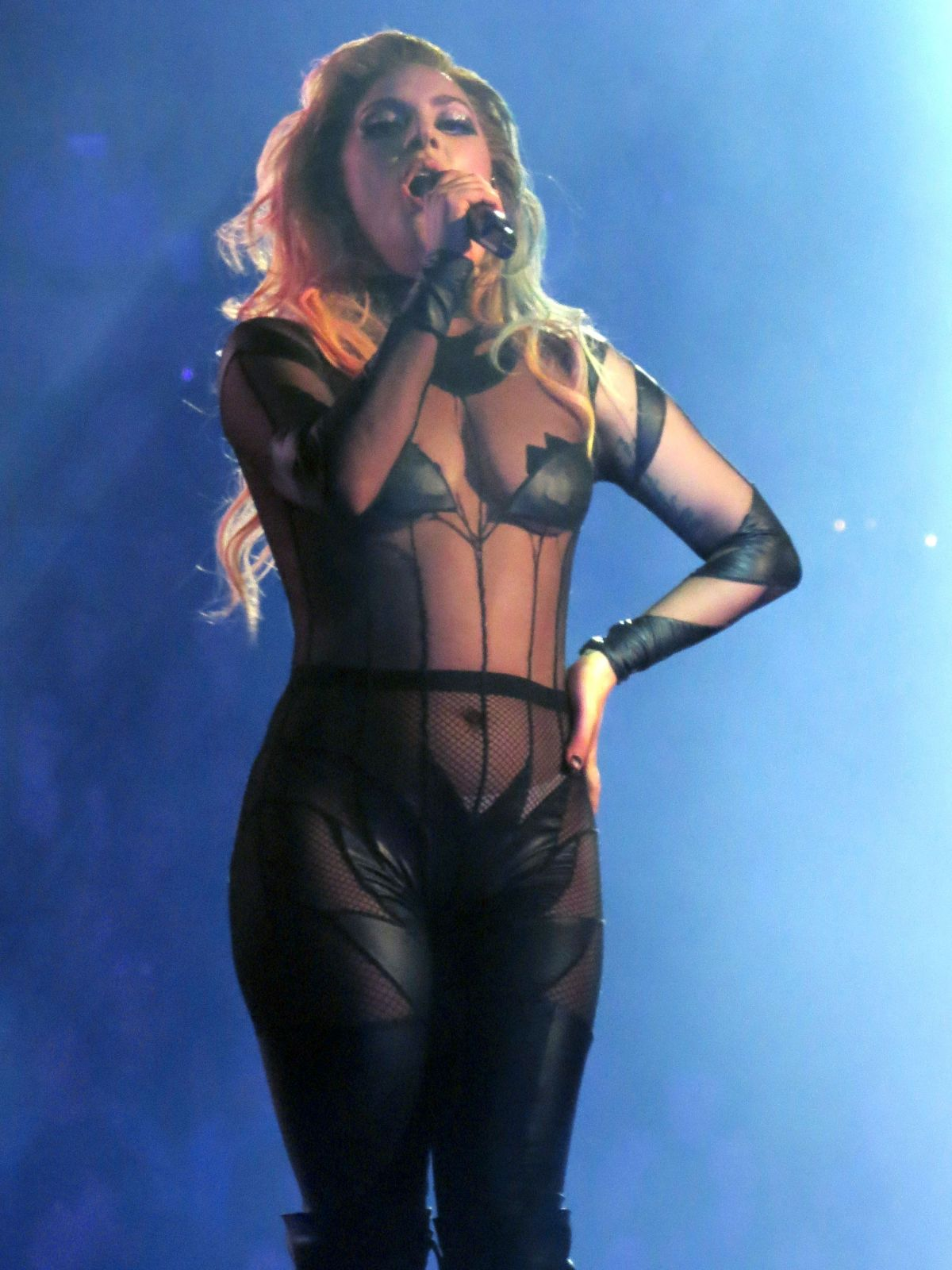 Highlights From Lady Gagas First Show Of The Joanne World Tour
