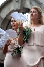 LADY KITTY SPENCER at a Society Wedding in Montenegro 08/05/2017