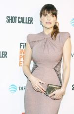 LAKE BELL at Shot Caller Premiere in Los Angeles 08/15/2017