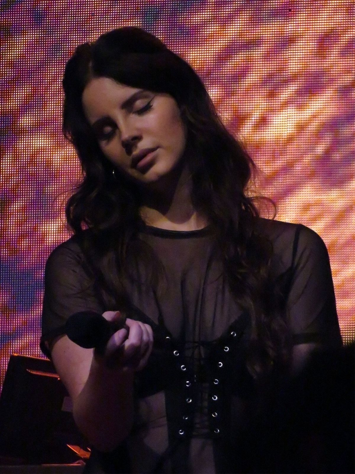 LANA DEL REY Performs at The House of Blues in San Diego 07/31/2017