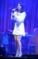 LANA DEL REY Performs at Way Out West Festival in Gothenburg 08/12/2017